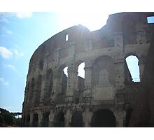 Sunrise on the Fall of the Roman Empire Photographic Print