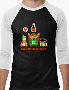 Alcoholink Men's Baseball ¾ T-Shirt