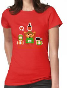 Alcoholink Womens Fitted T-Shirt