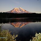 Mt Adams Refection by DavesPhoto