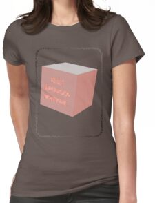 T Shirts for the outa left field the different and unconcerned Womens Fitted T-Shirt