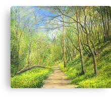Yellow Scent Canvas Print