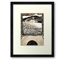 Arrival of the Fremen Leader.  Framed Print