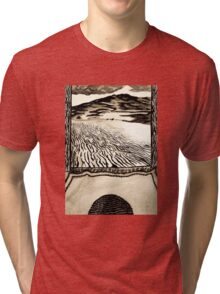 Arrival of the Fremen Leader.  Tri-blend T-Shirt