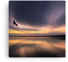 Golden Eagle Dawn by David Alexander Elder Canvas Print