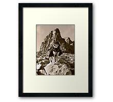 The Spirit of the Adventurer Framed Print