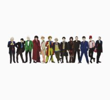 Doctor Who - 13 Doctors lineup Kids Tee