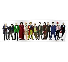 Doctor Who - 13 Doctors lineup Poster