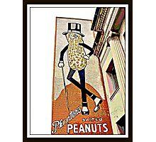 """Mr Peanut"" Wilkes-Barre, Pennsylvania Photographic Print"
