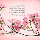 Pink Dogwood by Beth Mason