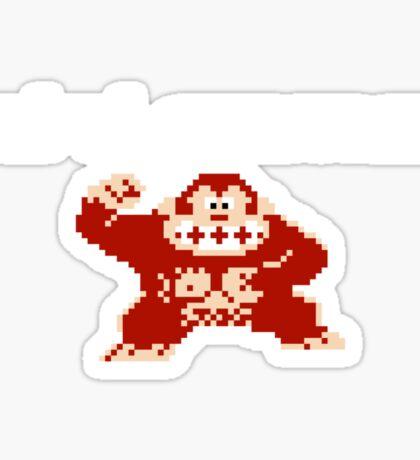 Mini Gamer - Donkey Kong Sticker