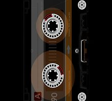 Retro Music Cassette Tape iPad Case / iPhone 5 Case / iPhone 4 Case  / Samsung Galaxy Cases  by CroDesign