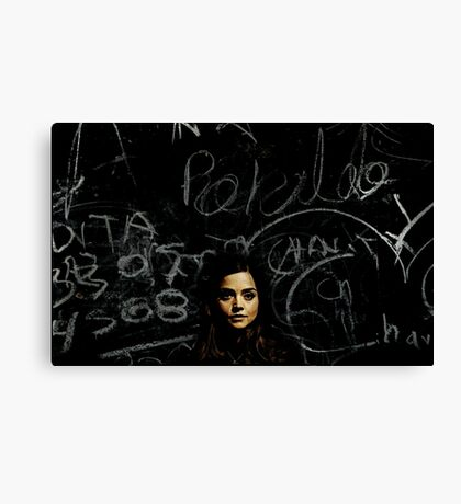 A Mystery Wrapped in an Enigma Canvas Print