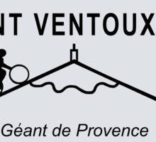 Mont Ventoux Mountain Road Sign Tour de France Sticker