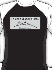 Mont Ventoux Mountain Road Sign Tour de France T-Shirt