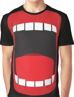 big open mouth   Graphic T-Shirt