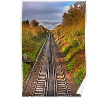Railway Line Poster