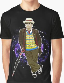 The 7th Doctor - Sylvester McCoy Graphic T-Shirt