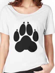 Wolf PawPrint Women's Relaxed Fit T-Shirt