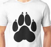 Wolf PawPrint Unisex T-Shirt