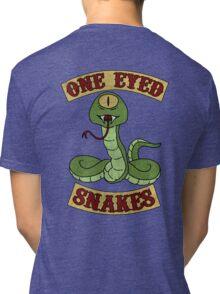 One Eyed Snakes Tri-blend T-Shirt