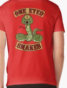 One Eyed Snakes Mens V-Neck T-Shirt