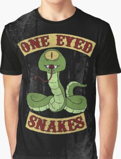 One Eyed Snakes Graphic T-Shirt