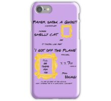 Friends Quotes iPhone Case/Skin