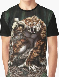 Saber Tiger Graphic T-Shirt