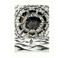 Mouth of the Shai-Hulud  Art Print