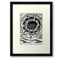Mouth of the Shai-Hulud  Framed Print