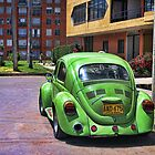 VW Beetle  by Maria  Gonzalez