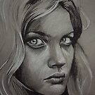 Charcoal experiment #2 by OlgaNoes