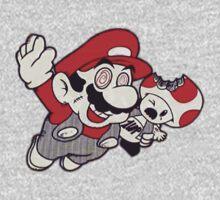 Mario Flying Mushroom by TheJokerSolo