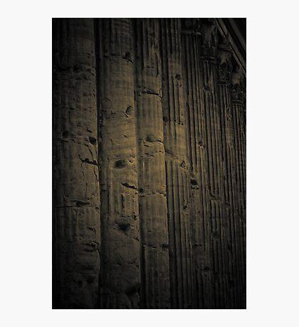 roman pillars  B@W Photographic Print