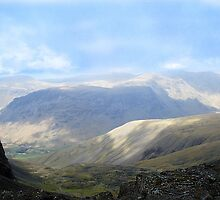 2000ft at Scafell Pike by Tony Dewey