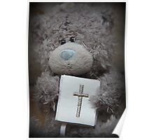 Communion Bear Poster