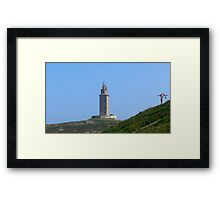 Hercules Tower Framed Print