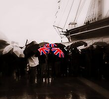 Union Jack Umbrellas by Karen Martin