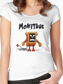 Monitaur Women's Fitted Scoop T-Shirt