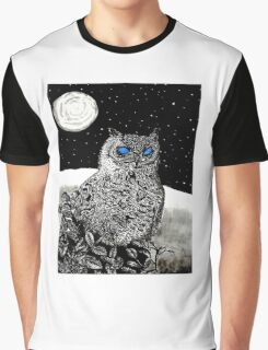Spice Owl  Graphic T-Shirt