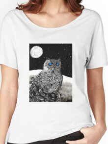 Spice Owl  Women's Relaxed Fit T-Shirt