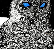 Spice Owl  Sticker