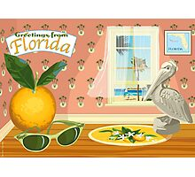 Florida Icons Photographic Print