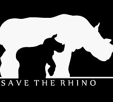 Save The Rhino by thekohakudragon