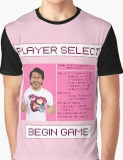 Markiplier Player Select Screen Graphic T-Shirt