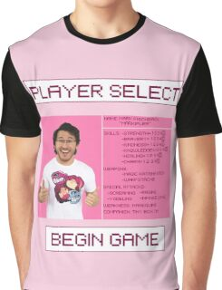 Markiplier Player Select Screen Graphic T-Shirt
