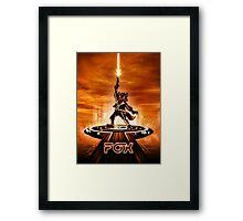 FOXTRON - Movie Poster Edition Framed Print