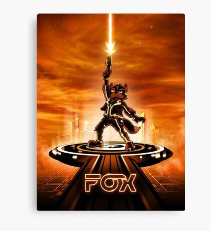 FOXTRON - Movie Poster Edition Canvas Print