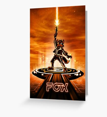FOXTRON - Movie Poster Edition Greeting Card